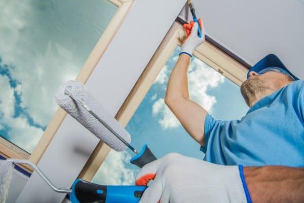 repainting house