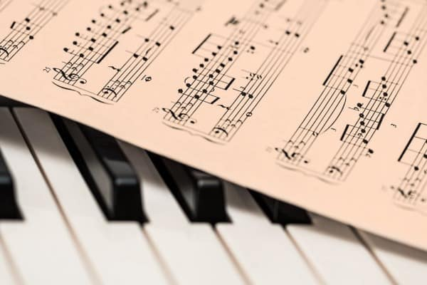 piano musical note