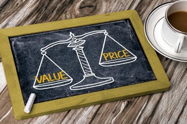 value price on chalk