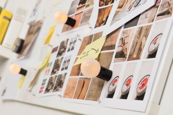 whiteboard photographs sticky