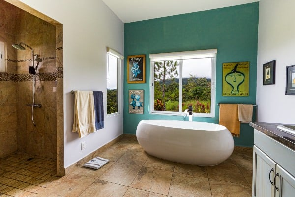 bathroom landscape image