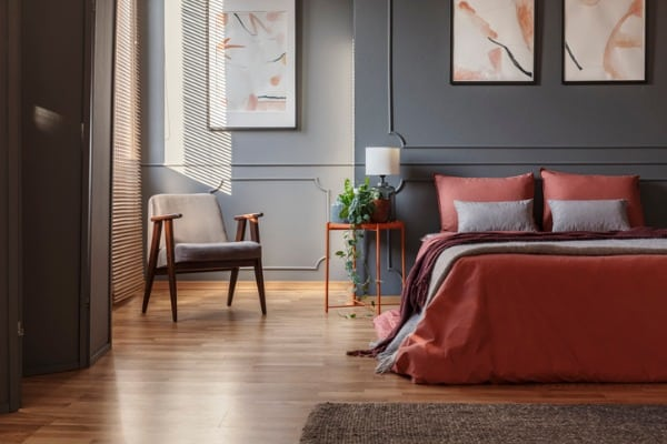 bedroom minimalistic design