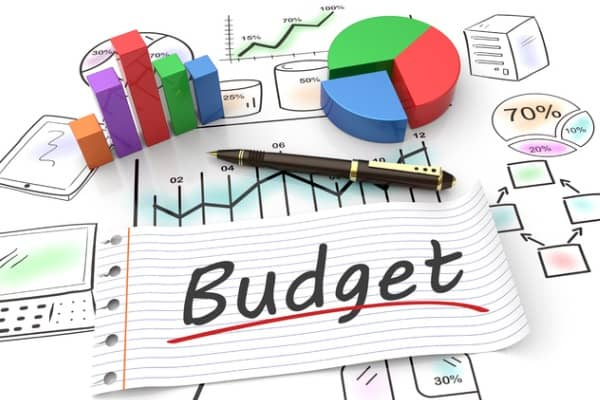 budget plan concept