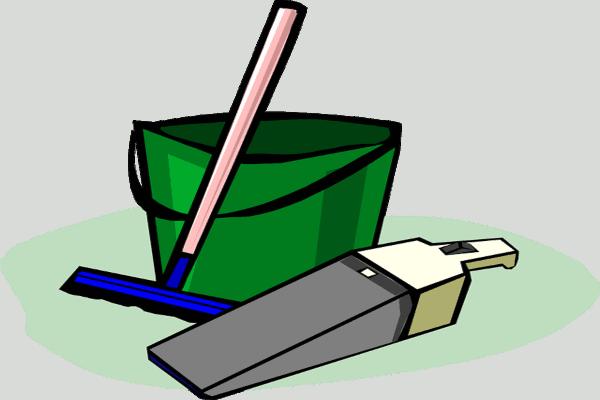 cartoon drawn bucket