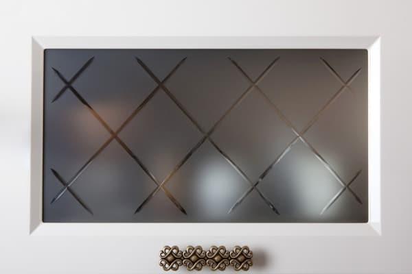 glass cabinet door image