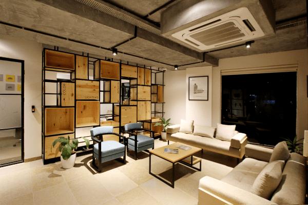 living room landscape image