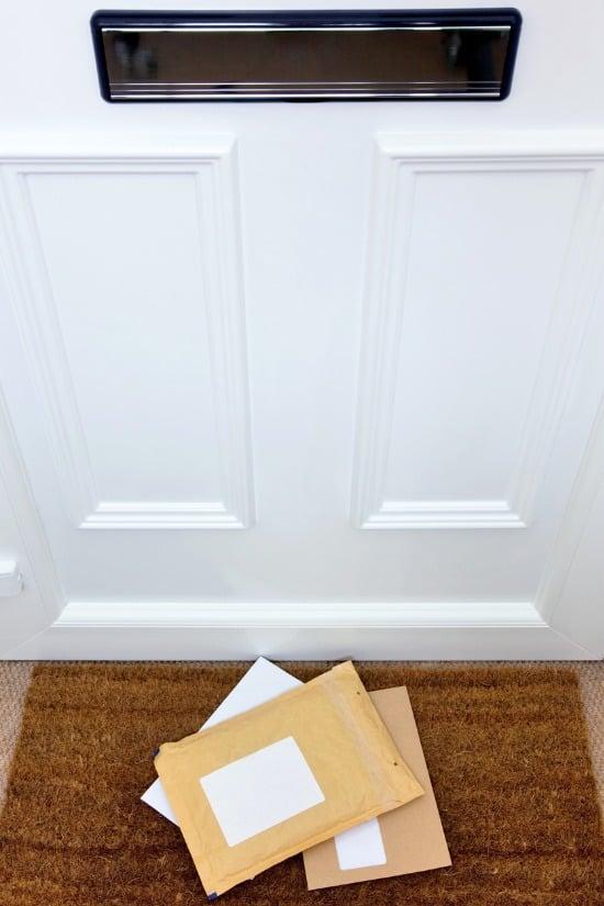 mail slot front door