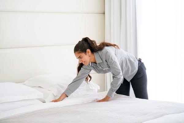 make bed morning