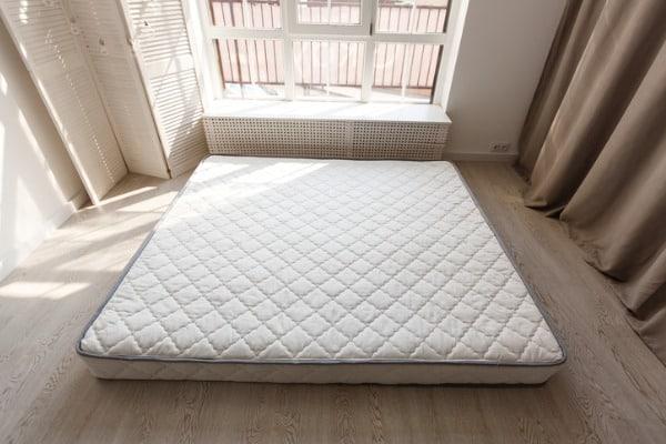 old grey mattress