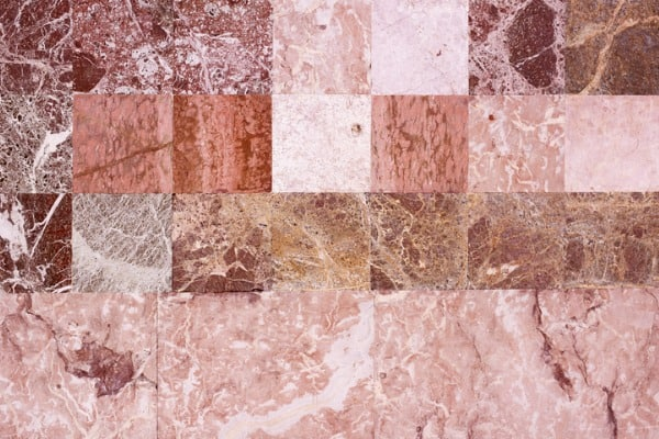 various types of tiles