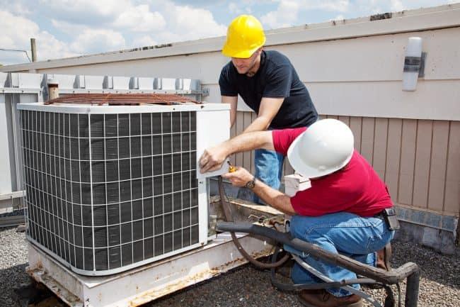 installing HVAC