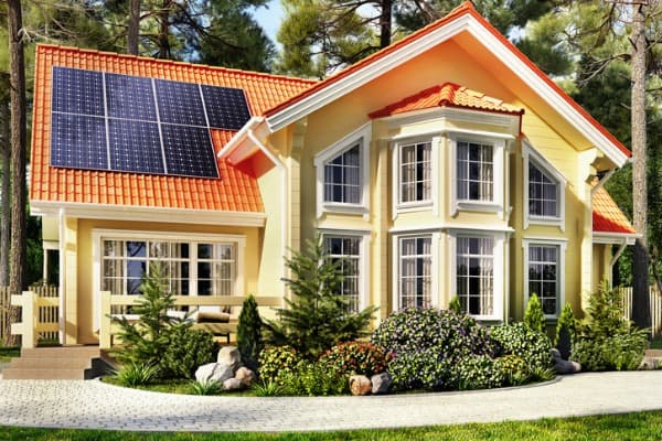 enhancing home decor with solar panels