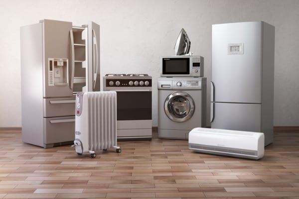 home appliancess set of household kitchen