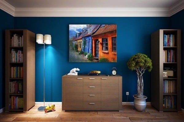 house wall furniture design