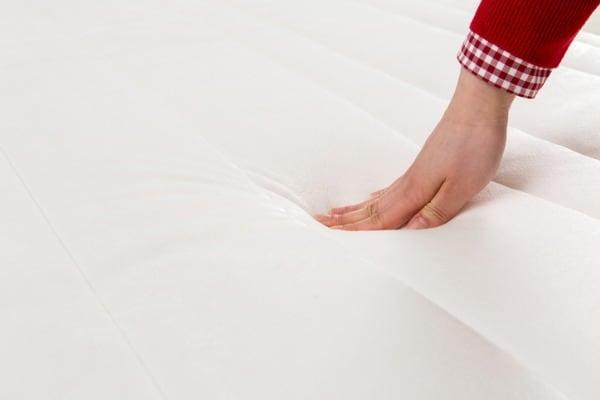 pressing a mattress