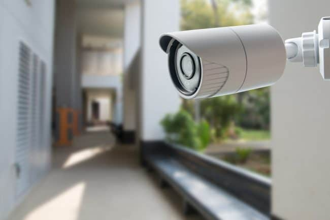 installing security cameras