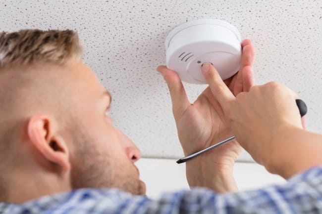 fire and smoke alarms for home