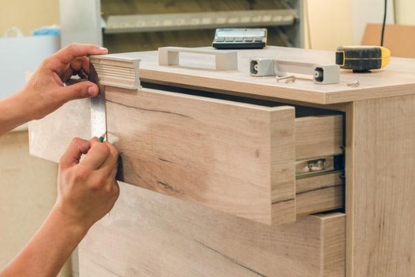 Assembling wood furniture