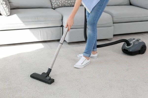 Regular vacuum for clean carpet