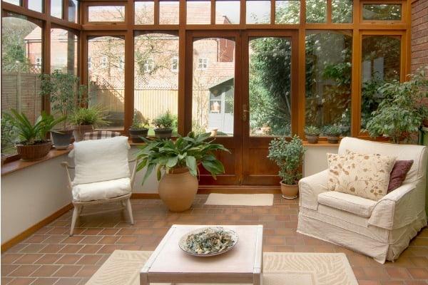 conservatory room