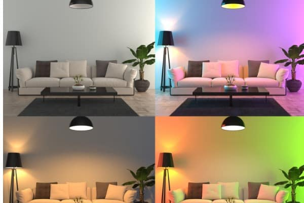 interior color lights