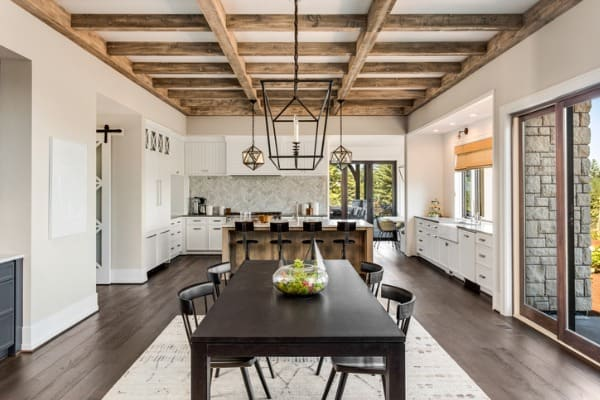 kitchen with multiple styles