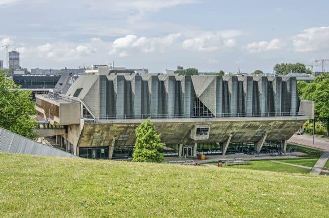 Delft university auditorium