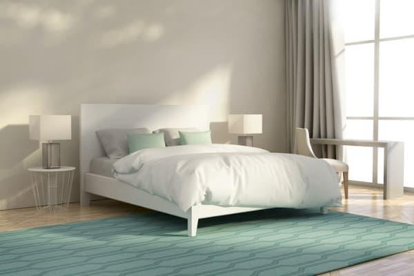 bedroom-area-rug-under-bed
