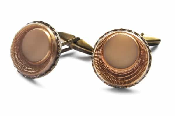 bronze-cufflinks-gift