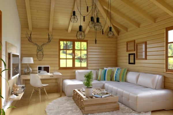 modern-and-retro-cabin-interior