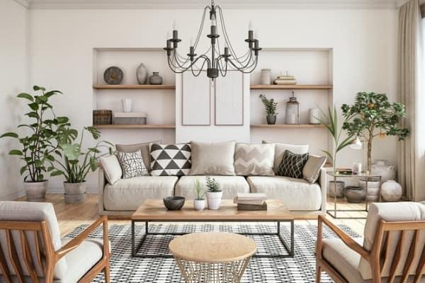 modern classy interior room