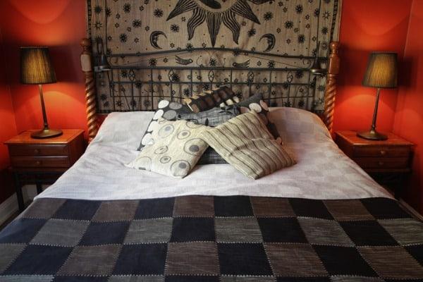 tapestry in bedroom