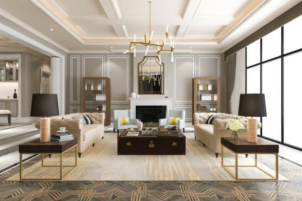 luxury-and-modern-living-room-with-bookshelf