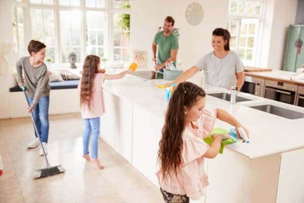 Make your home clean and virus-free