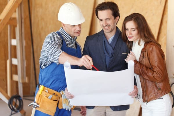 communicate with your builder