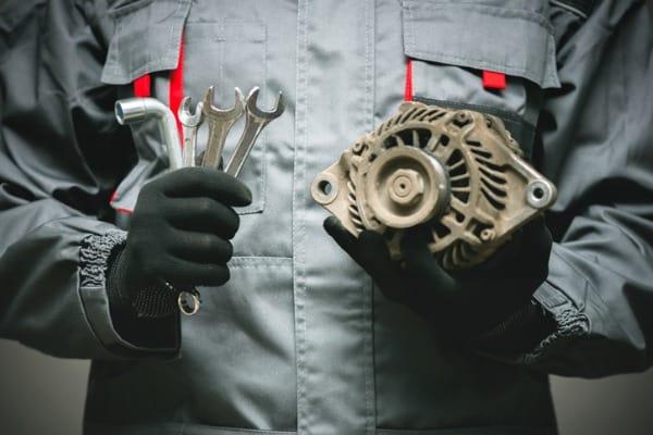 electric generator maintenance