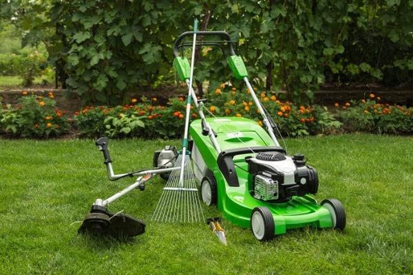 outdoor-shot-of-garden-equipment