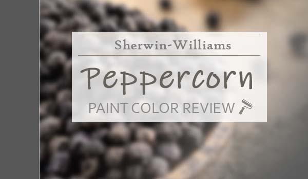 sw peppercorn paint