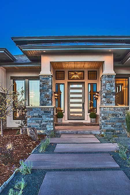 Stylish Prairie Mountain Modern House Plan12