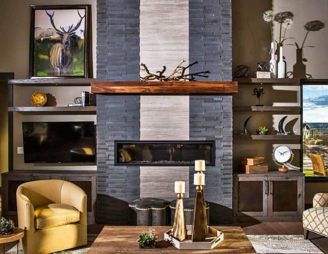 Stylish Prairie Mountain Modern House Plan13