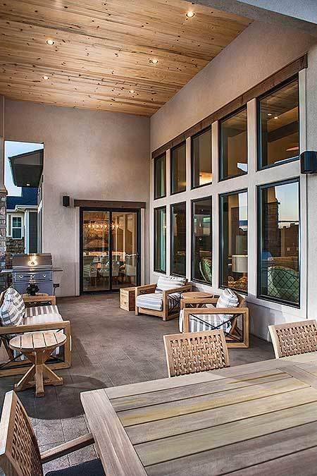 Stylish Prairie Mountain Modern House Plan4