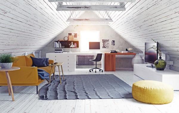 convert attic room photo