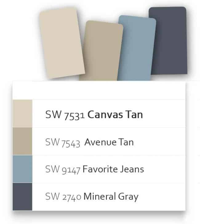 great pairing colors sw7531