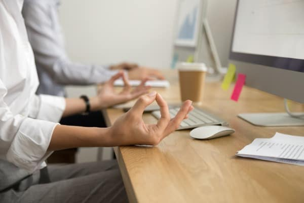 office yoga for relaxation