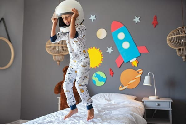 space-theme-childs-room