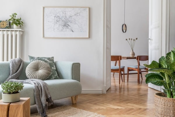stylish-scandinavian-living-room-with-design-mint-sofa