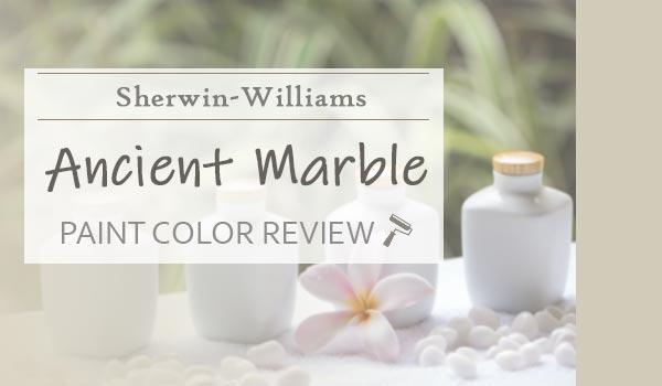 sw ancient marble paint color review