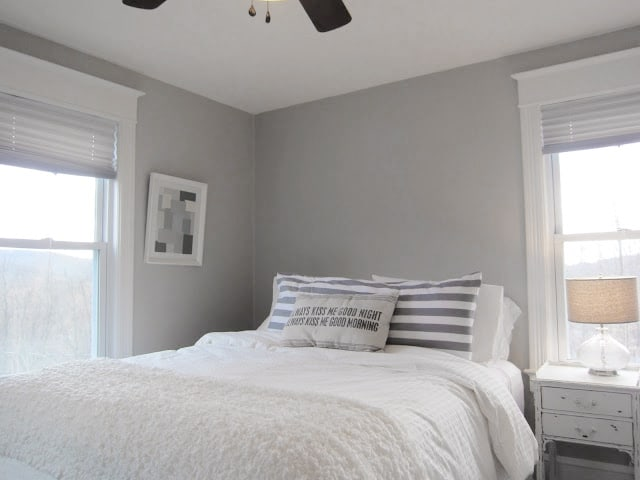 bedroom colonnade gray photo