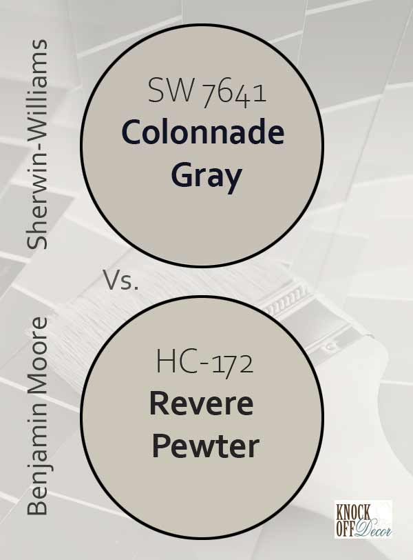 cg vs bm revere pewter