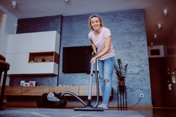 cleaning house healthy benefits